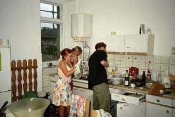 deutsch-polnischer gfps-sprachkurs 2003 (gfps e. v.) - Küche Arbeit
