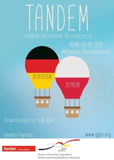 [Photo] Plakat Tandem Deutsch/Polnisch 2017