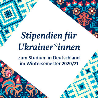 [Photo] Stipendien für Ukrainer*innen